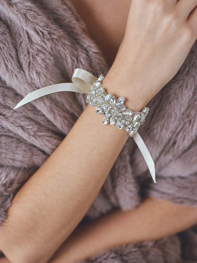 Wedding - Bridal Cuff Bracelet