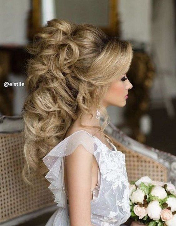 Mariage - 45 Most Romantic Wedding Hairstyles For Long Hair