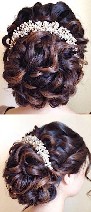 Hochzeit - Wedding Hairstyle Inspiration - Heidi Marie (Garrett