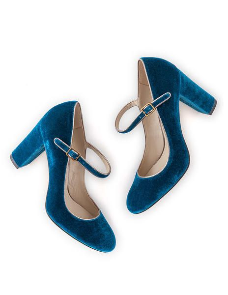 Wedding - Mary Jane (Rich Turquoise)