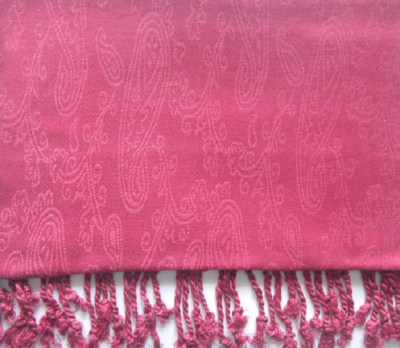 Boda - Crimson colour,Self Designed Pashmina Scarf, Wrap, Womens Clothing,Bridal Gift,Fashion Scarves,Wedding party function scraf,Womaen accessory