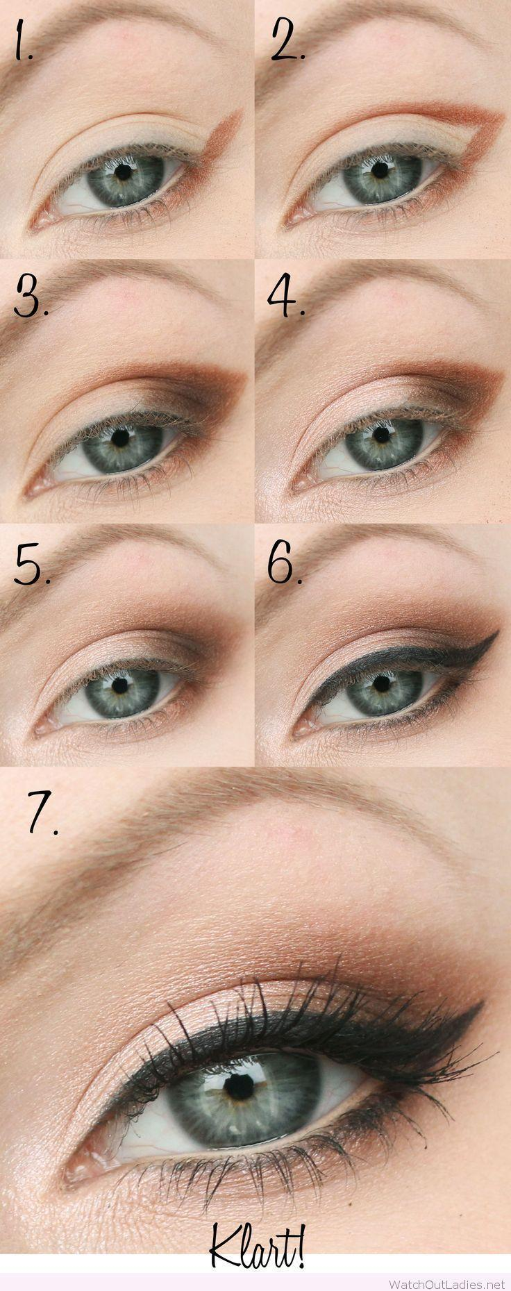 Wedding - Smokey Eye Tutorial With Nude And Black