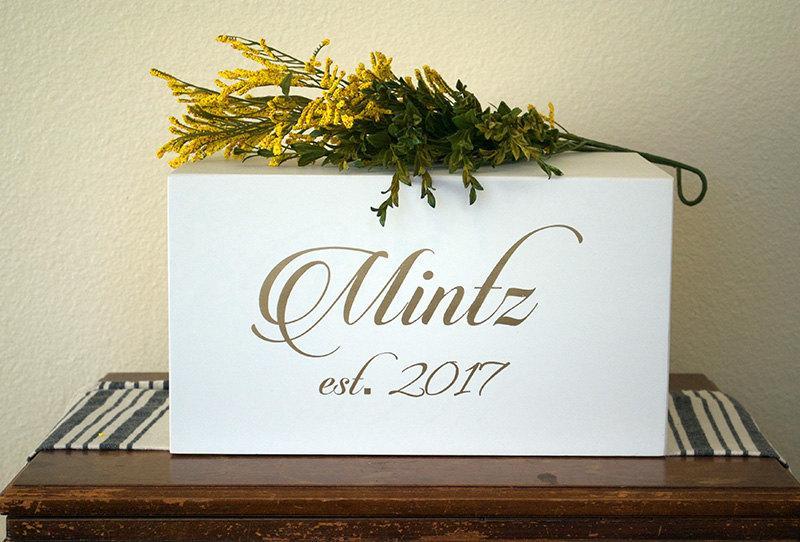 Hochzeit - Luxury Wedding Card Box,  Free shipping Elegant Wedding Card Box, card box, card box for wedding, wedding card holder, card holder