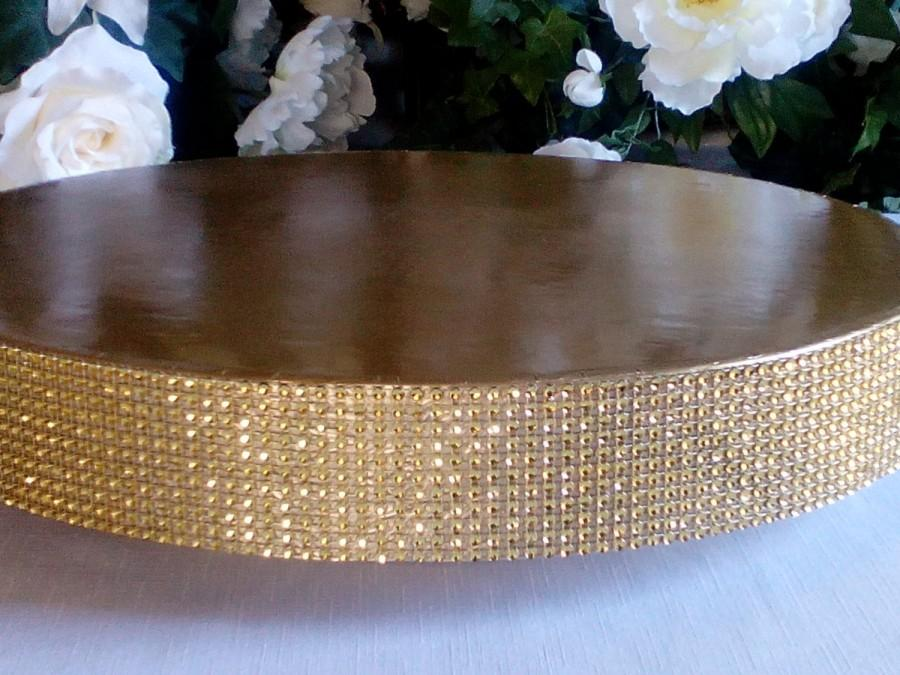 "Boda - Wedding Cake Stand ""Glitzy Gold"""