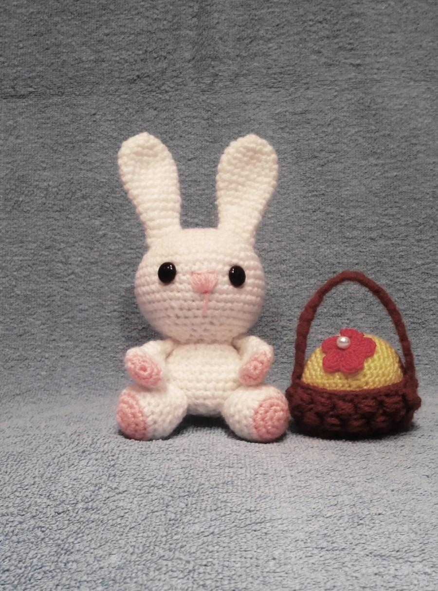 Wedding - Knit Bunny Rabbit Toy Children Toy Knit Toy cheerful Bunny Rabbit gift baby