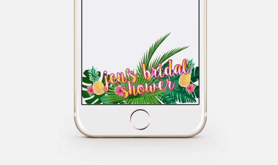 Wedding - Bridal Shower Snapchat Filter