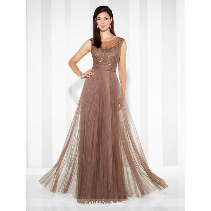 Wedding - Mink Cameron Blake 117621 Cameron Blake - Top Design Dress Online Shop