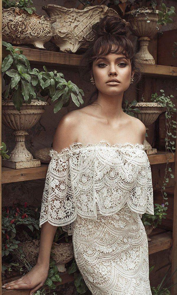 Hochzeit - Romanzo Wedding Dresses 2017 By Julie Vino