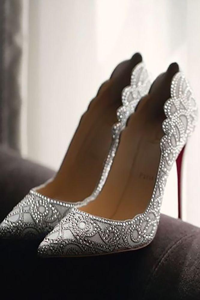 Hochzeit - 24 Gorgeous Bridal Shoes For Stunning Brides