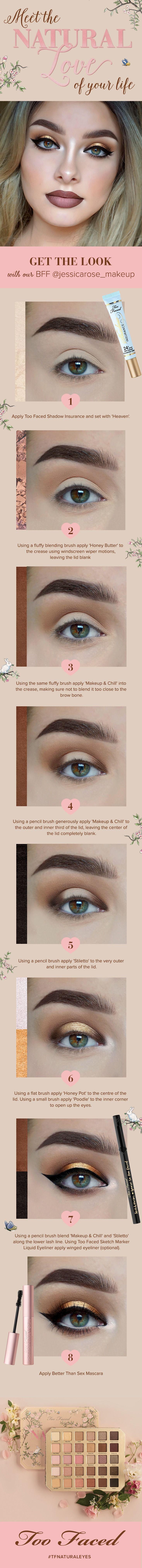 Свадьба - Too Faced Natural Love Eyeshadow Palette
