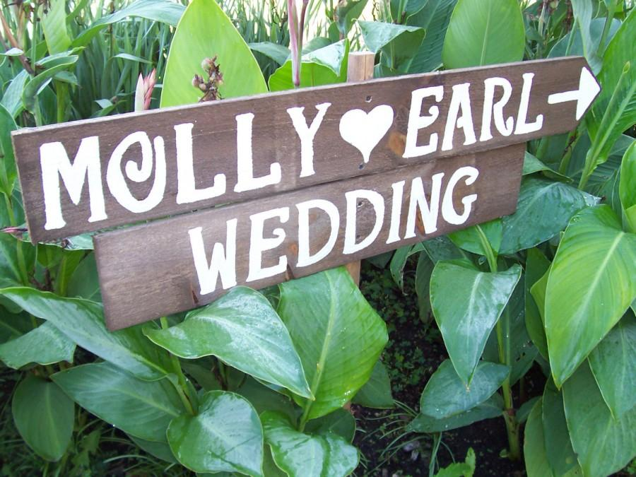 Boda - lg Rustic Wedding Signs Save The Date painted wood signs beach decorations country mr and mrs signage reception baby bridal shower ceremony