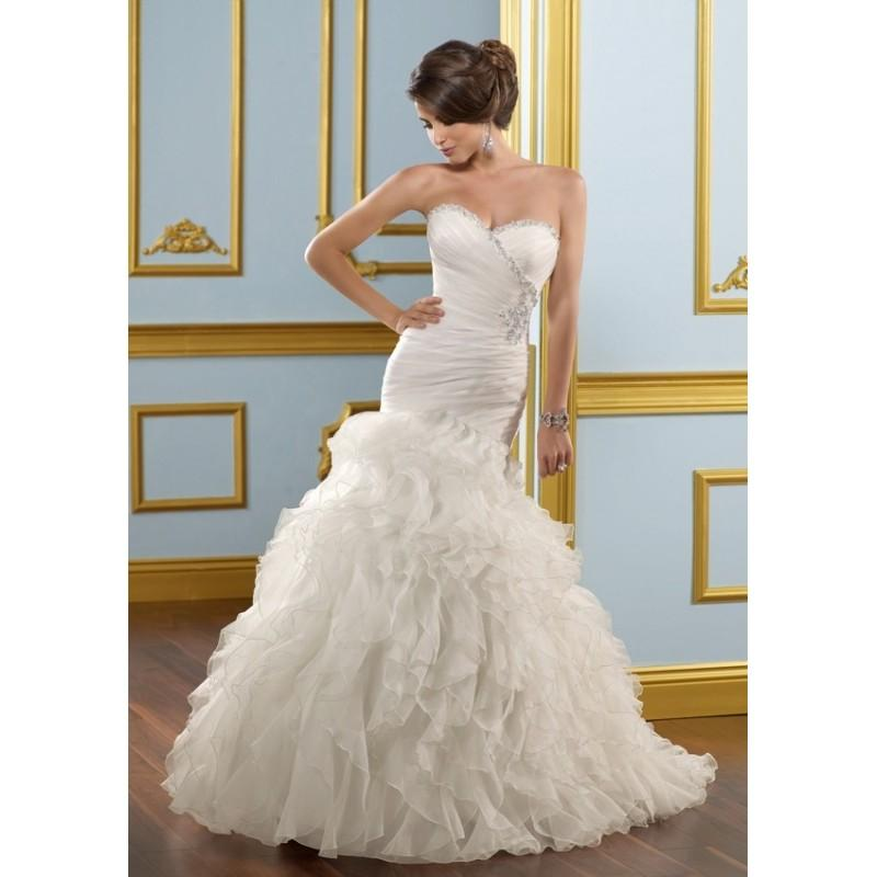 Свадьба - Blu by Mori Lee 4905 Mermaid Wedding Dress - Crazy Sale Bridal Dresses