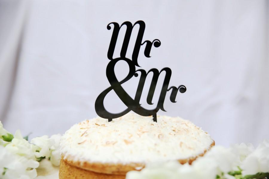 Wedding - Mr and Mr Topper Various Colours Available