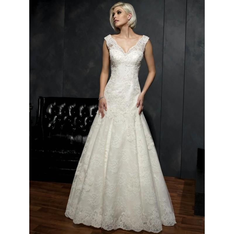 Wedding - Kenneth Winston Wedding Dresses - Style 1521 - Formal Day Dresses