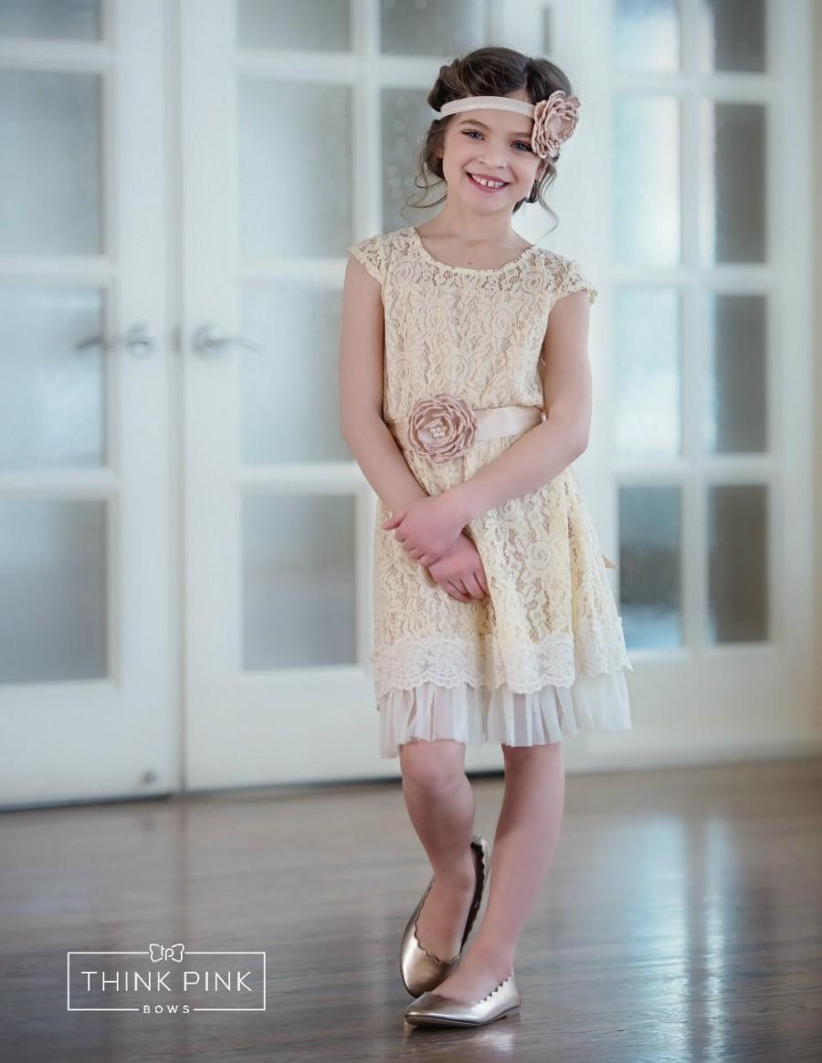 Flower Girl Dresses , Lace Flower Girl Dress ,toddler Dresses ...