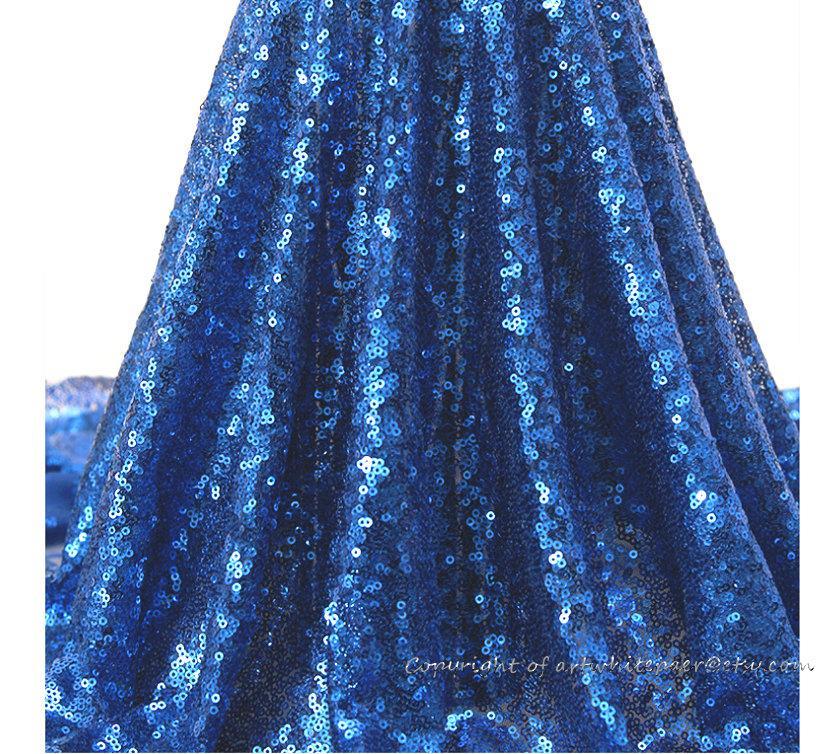 زفاف - Royal Blue Sequin Glitz Tablecloth Rectangle Round Dinner,Party,Wedding--23 colors,Bridal Shower Gift,Photography Backdrop,GET FREE GIFT