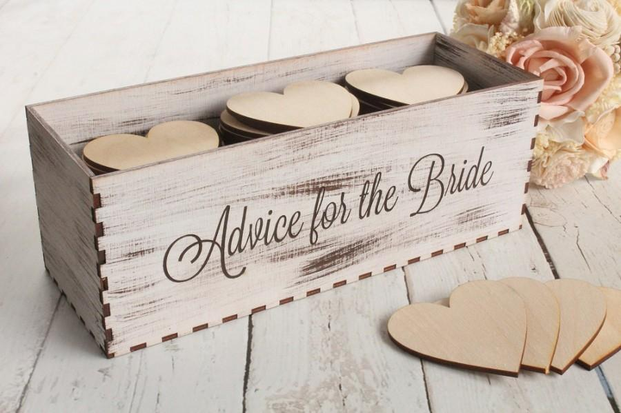 Mariage - Advice For The Bride Box Rustic Bridal Shower