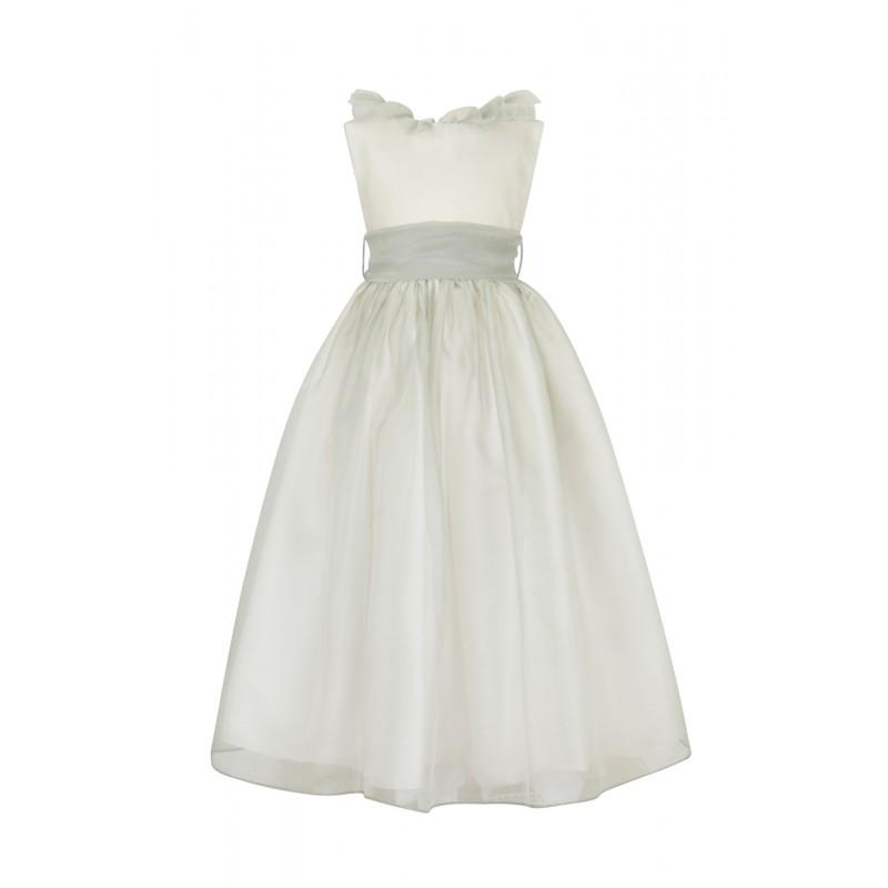 Свадьба - Nicki Macfarlane - The Swan Collection - Organza Mirabelle 903156 - granddressy.com