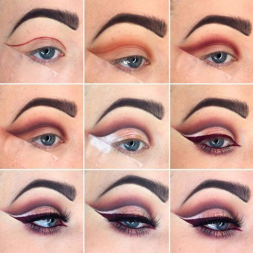 Свадьба - Awesome Smokey Eyes Makeup Is Definitely An Art.todays Round Up Is A Little Different Than Usual