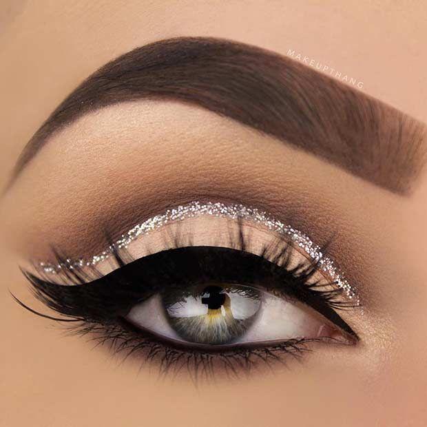 زفاف - 25 Glamorous Makeup Ideas For New Year's Eve
