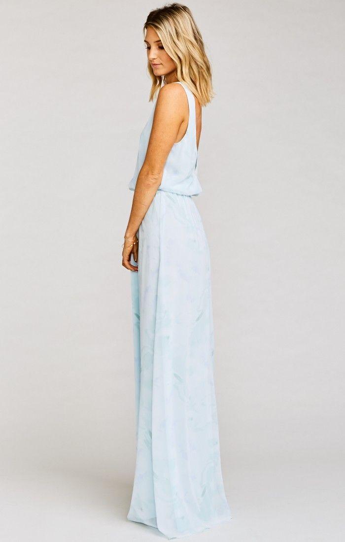 Brautjungfer - Kendall Maxi Dress ~ Baby Babers #2703334 - Weddbook