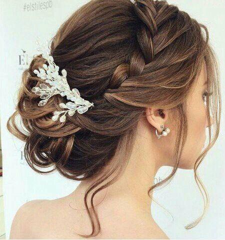 Свадьба - Hairstyle