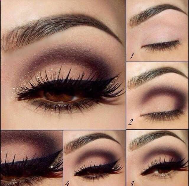 Свадьба - How To Apply Eyeshadow Step By Step For Brown Eyes - Google Search