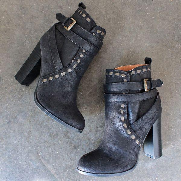 Hochzeit - Fairest Ankle Boot Of Them All In Black