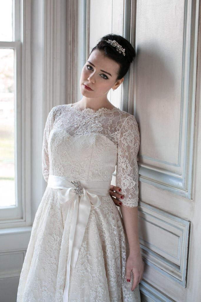 Mariage - Ivory Lace - SAKI