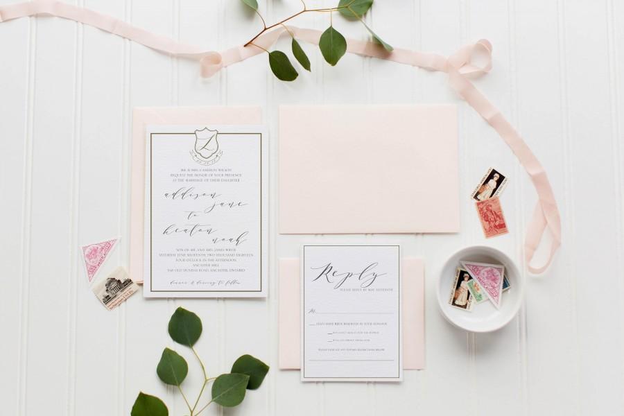 زفاف - The Keaton Wedding Invitation Suite
