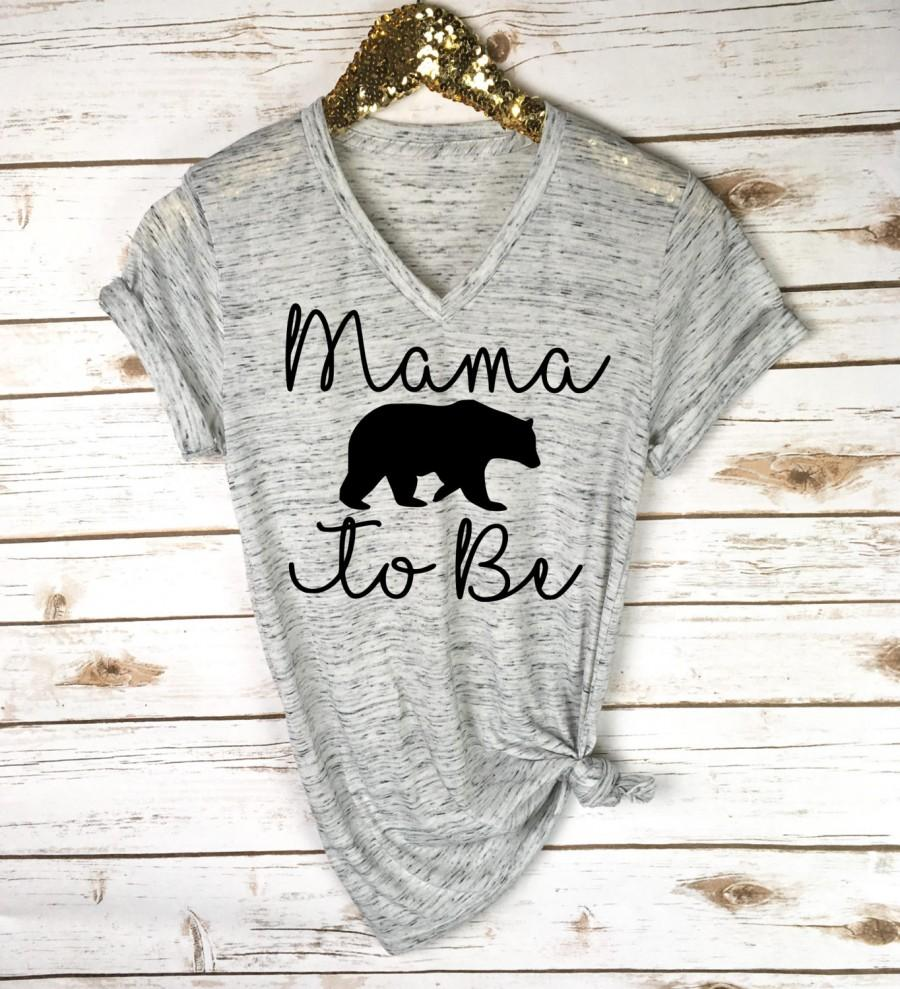 cbb8473ef Mama Bear To Be Shirt - Pregnancy Announcement Shirt - Baby Reveal - Pregnancy  Shirt - Baby Announcement - New Mom Gift - Mother's Day