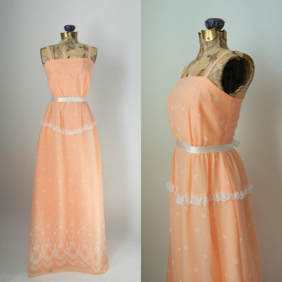 Vintage dress 60s dress pink dress vintage maxi dress 1960 vintage dress 60s dress pink dress vintage maxi dress 1960 maxi dress pink maxi dress bridesmaid dress pink bridal dress retro 60s ombrellifo Image collections