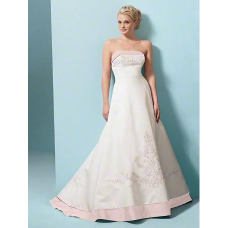 Wedding - Alfred Angelo 1797 Bridal Gown (2011) (AA11_1797BG) - Crazy Sale Formal Dresses