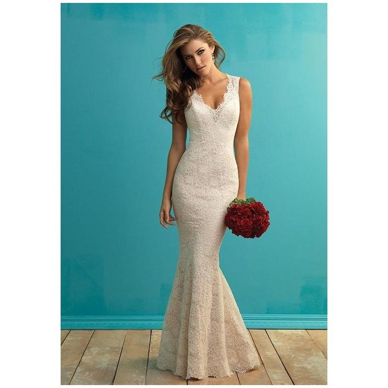 Allure bridals 9253 wedding dress the knot formal for Wedding dresses the knot