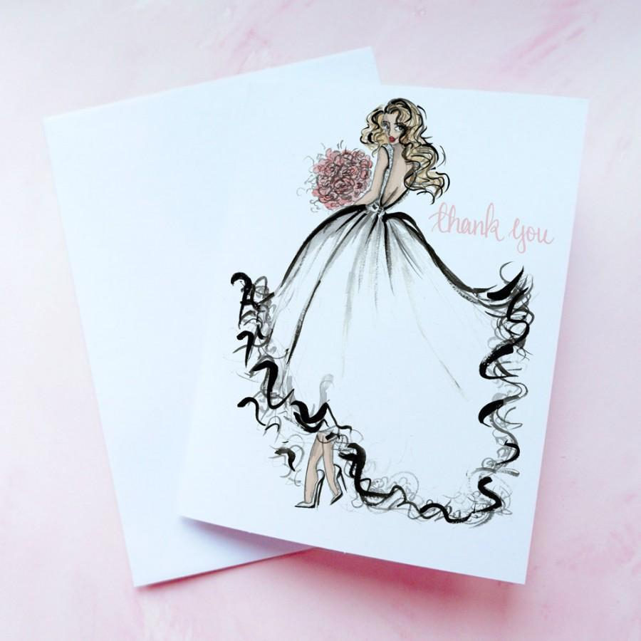 Bridal Shower Thank You Cards Thank You From The Future Mrs