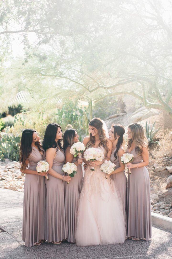 Mariage - Classic Mauve And Gold Arizona Wedding