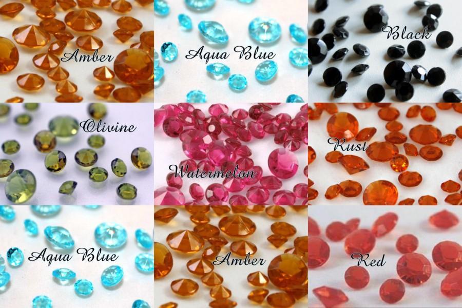 14mm 500 Pcs Diamond Confetti 10 Carat For Centerpieces Wedding Party Decor Acrylic Crystals Vase Filler 1 2 3 Us Meas Cup