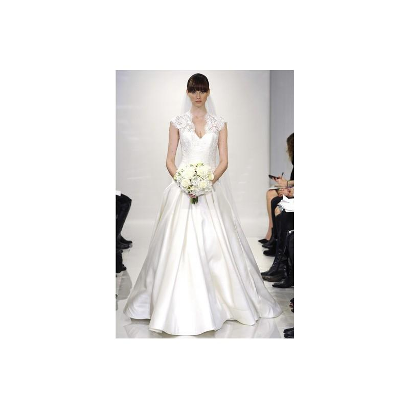 Wedding - Theia FW14 Dress 14 - Full Length Theia White A-Line Fall 2014 Sweetheart - Nonmiss One Wedding Store