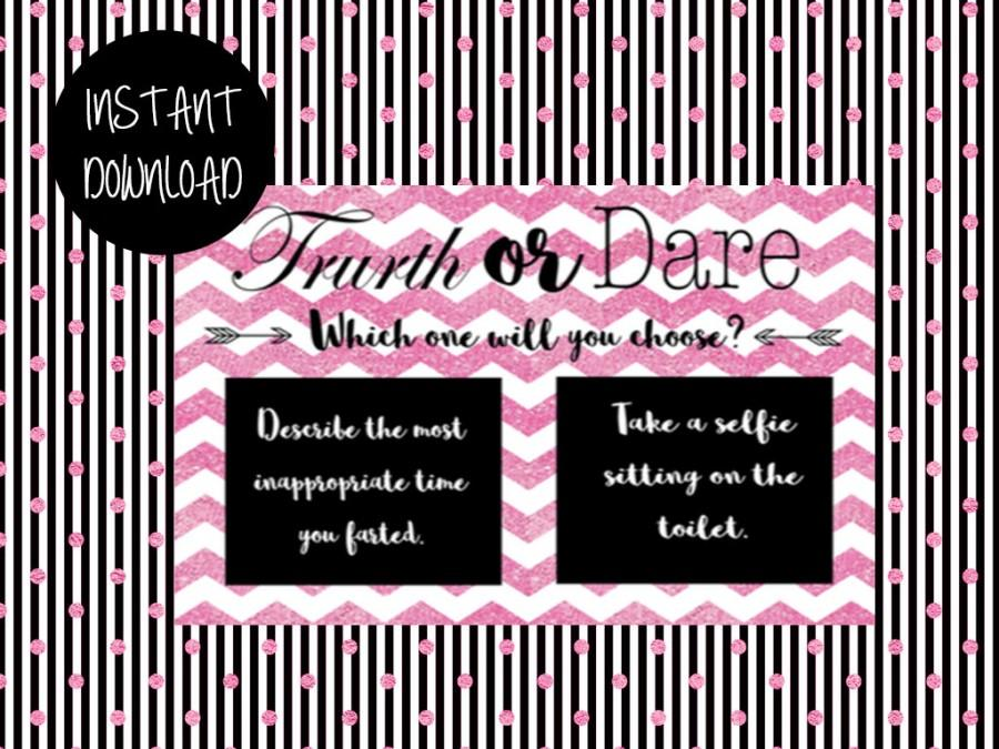 Truth or dare cards printable