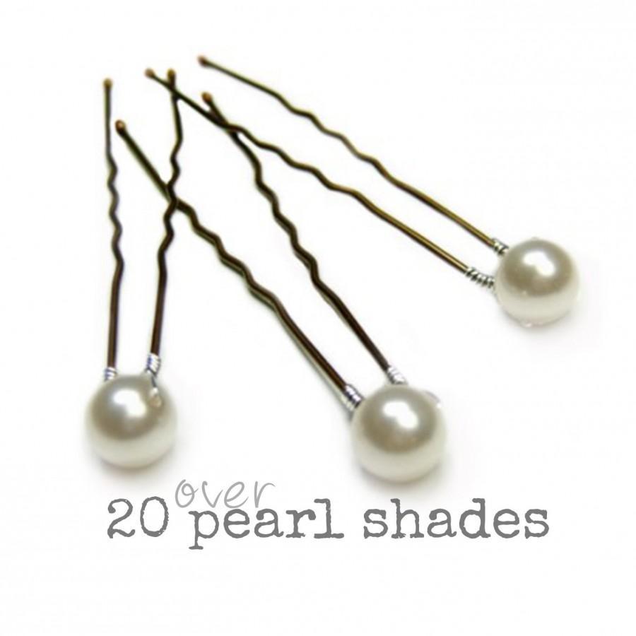 زفاف - Pearl Bridal Hair Pins, Pearl Wedding Hair Pins, Pearl Hair Grips, Pearl Bridesmaid Hair Pins, Pearl Wedding Hair Accessory, Bridal Hair