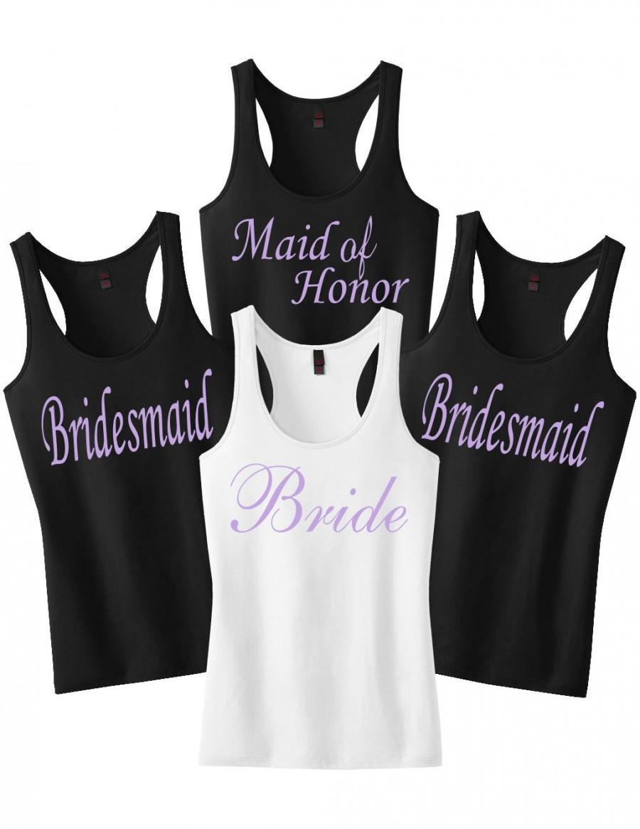 Bridesmaid Shirts.Wedding Shirts.Bridesmaid Gift.Bridal Party Shirts ...
