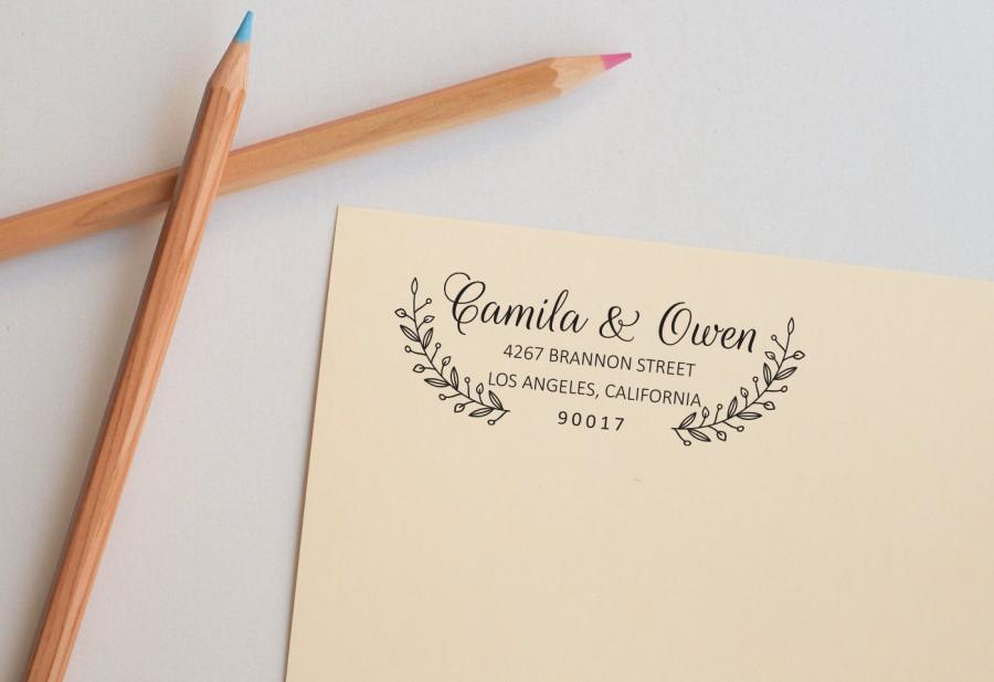 custom wedding stamp address personalized wedding stamp wedding