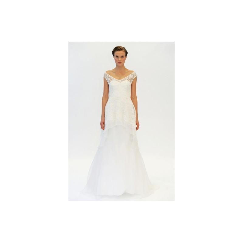Wedding - Lela Rose SP2015 Dress 7 - A-Line Full Length Sleeveless Spring 2015 Lela Rose White - Nonmiss One Wedding Store