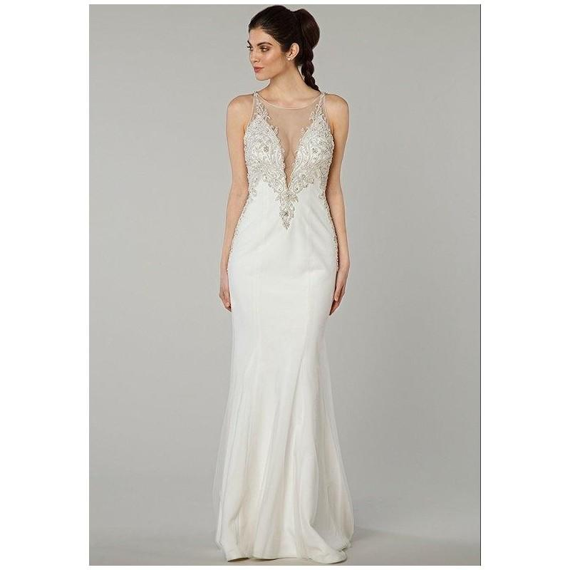 Mz2 by mark zunino 74564 wedding dress the knot formal for Wedding dresses the knot