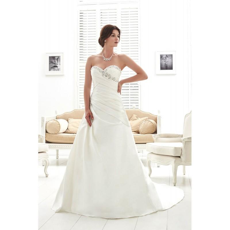 Wedding - Romantica Style PC6954 by Phil Collins - Taffeta Floor Sweetheart  Strapless A-Line Wedding Dresses - Bridesmaid Dress Online Shop