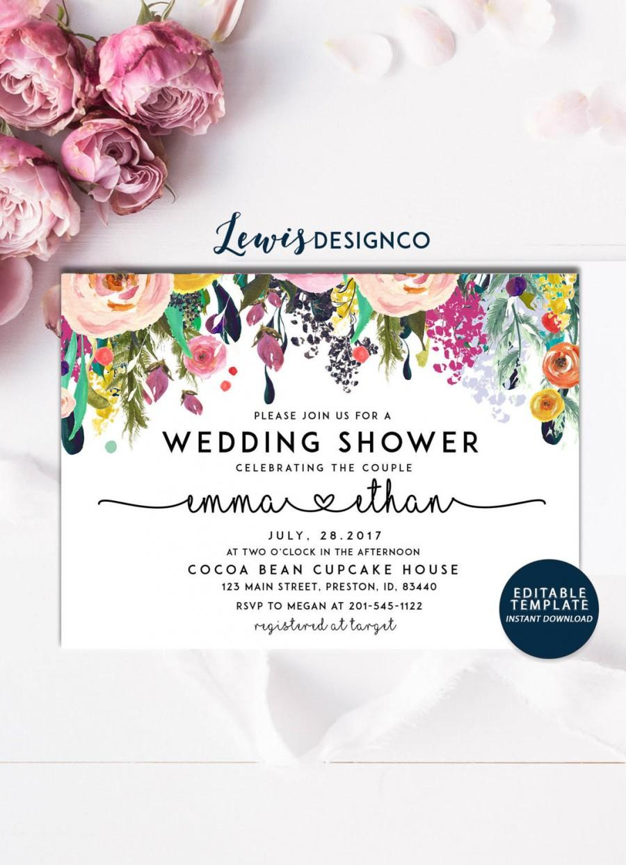 Свадьба - Wedding Shower Invitation