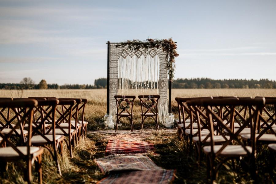 Свадьба - EXPRESS SHIPPING Handmade Macrame Wedding Arbour, Wedding Arches, Macrame Canopy, Wedding Decor, Macrame Wedding backdrop, Boho wedding