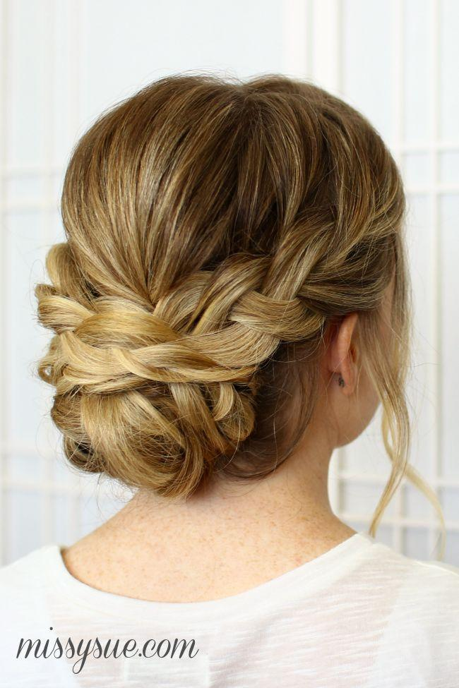 Wedding - Soft Braided Updo