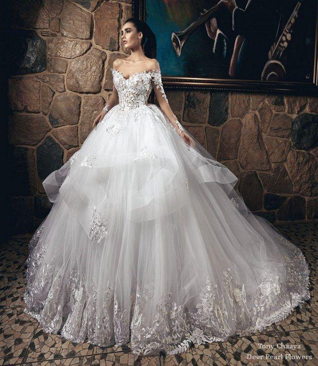 Hochzeit - Tony Chaaya Wedding Dresses 2017