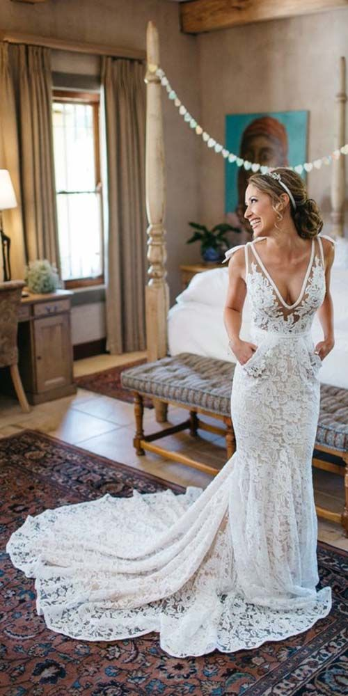 Hochzeit - 30 Lace Wedding Dresses That You Will Absolutely Love